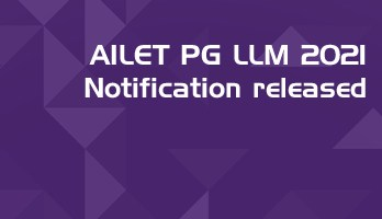 AILET PG 2021 NLU Delhi LLM Entrance Notification Released Mock Test Previous Question Papers LawMint