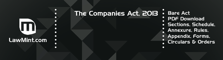 The Companies Act 2013 Bare Act PDF Download 2