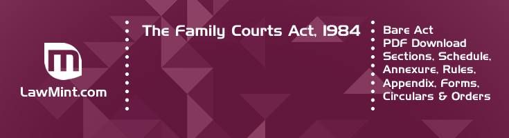 The Family Courts Act 1984 Bare Act PDF Download 2