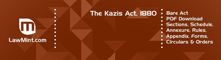The Kazis Act 1880 Bare Act PDF Download 2