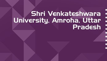Shri Venkateshwara University LLB LLM Syllabus Revision Notes Study Material Guide Question Papers 1