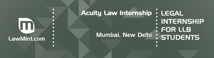 acuity law internship application eligibility experience mumbai new delhi