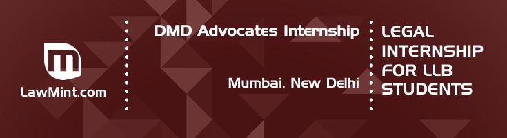 dmd advocates internship application eligibility experience mumbai new delhi