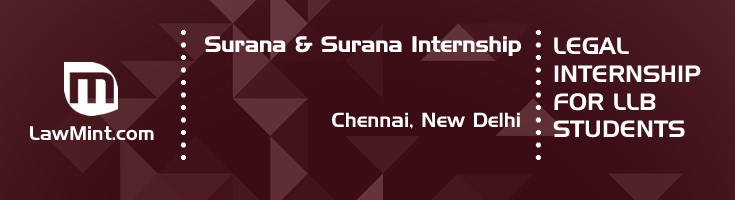 surana and surana internship application eligibility experience chennai new delhi