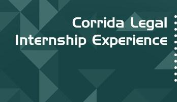 Corrida Legal Internship Experience Paid Mumbai Gurgaon Law Firm