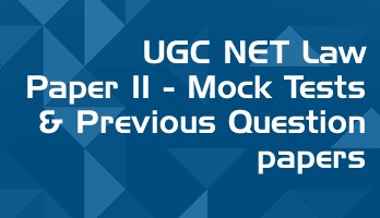 UGC NET Law Mock Tests Previous Question papers LawMint