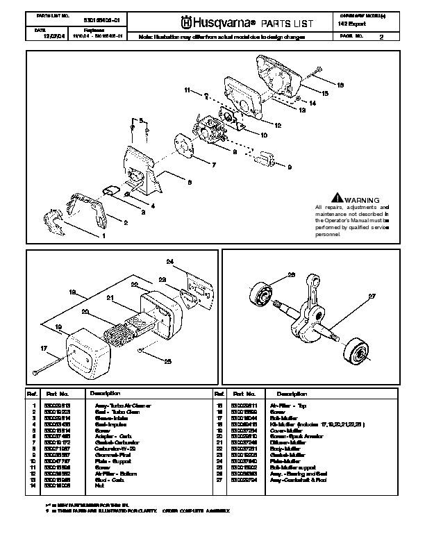 husqvarna 142 chainsaw manual pdf rh pandarestaurant us Husqvarna 55 Rancher Chainsaw Husqvarna 61 Chainsaw Specifications