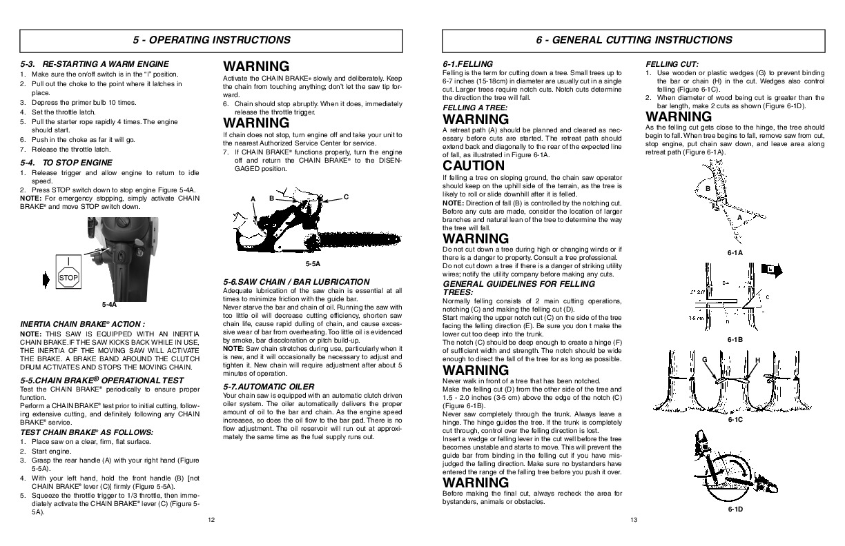 Mcculloch Eager Beaver Ebc Dk Chainsaw Owners Manual