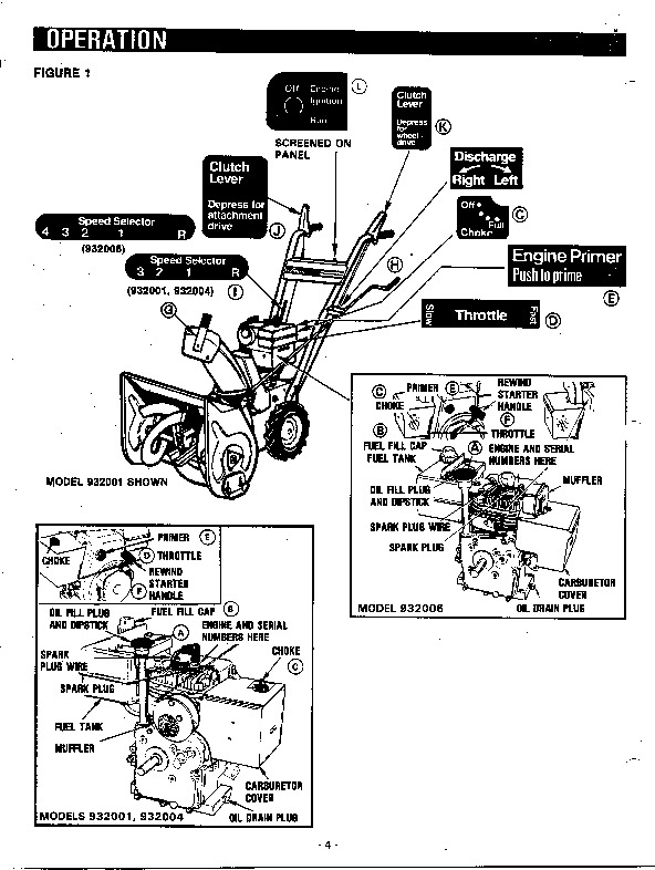Craftsman Snowblower Manual