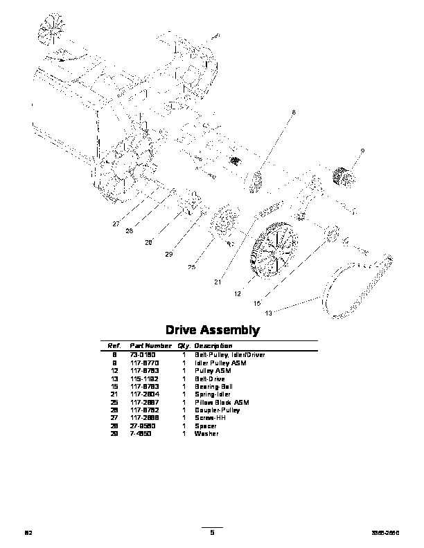 Blower Electric Replacement Snow Toro Parts