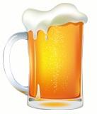 Beer mug - left