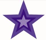 Stars - multi-colour