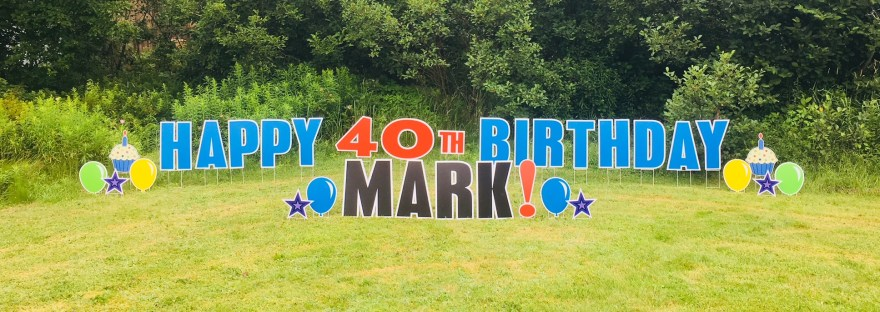 Happy 40th Birthday Mark!