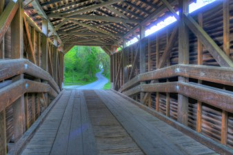 Foxcatcher Farm Covered Bridge
