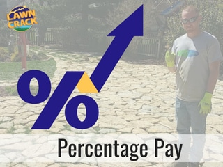 Percentage Pay in the Lawn Care Industry