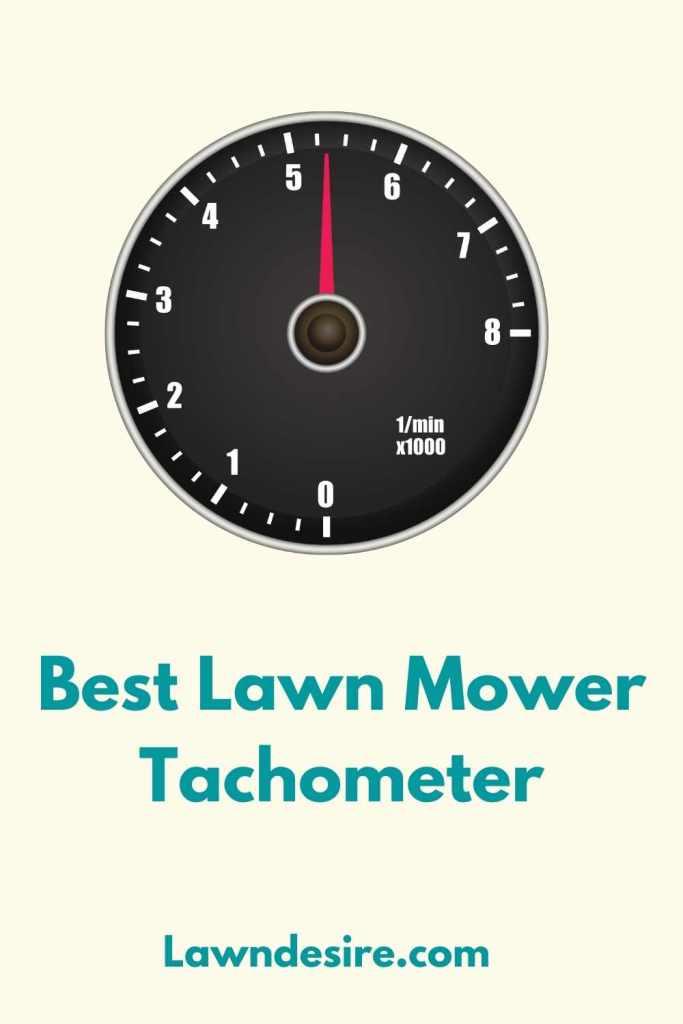 Lawn-Mower-Tachometer