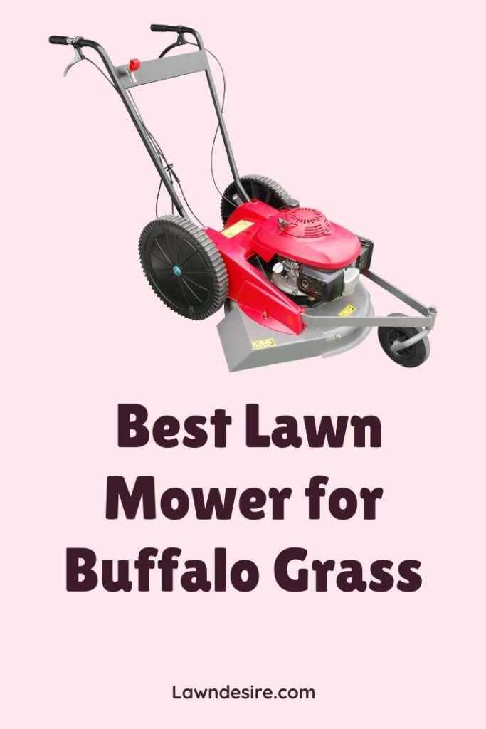 lawn mower for buffalo grass