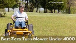 Best zero turn mower under 4000