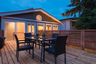 A deck renovation project by our team