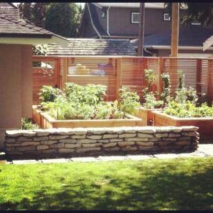 cedar garden box consstruction vancouver