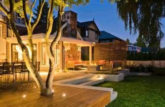 deck installation vancouver, garden design lighting vancouver