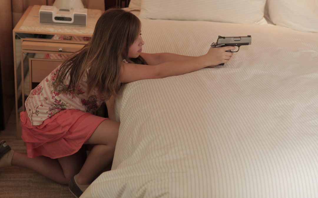 child defensive gun use