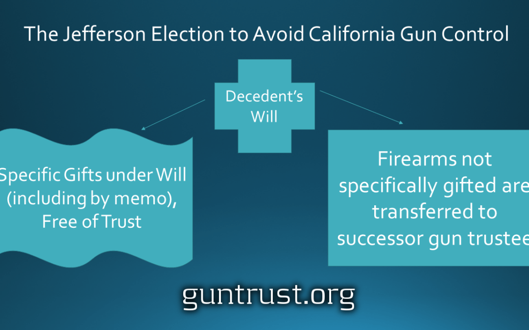 The Jefferson Election Avoids California #GunControl