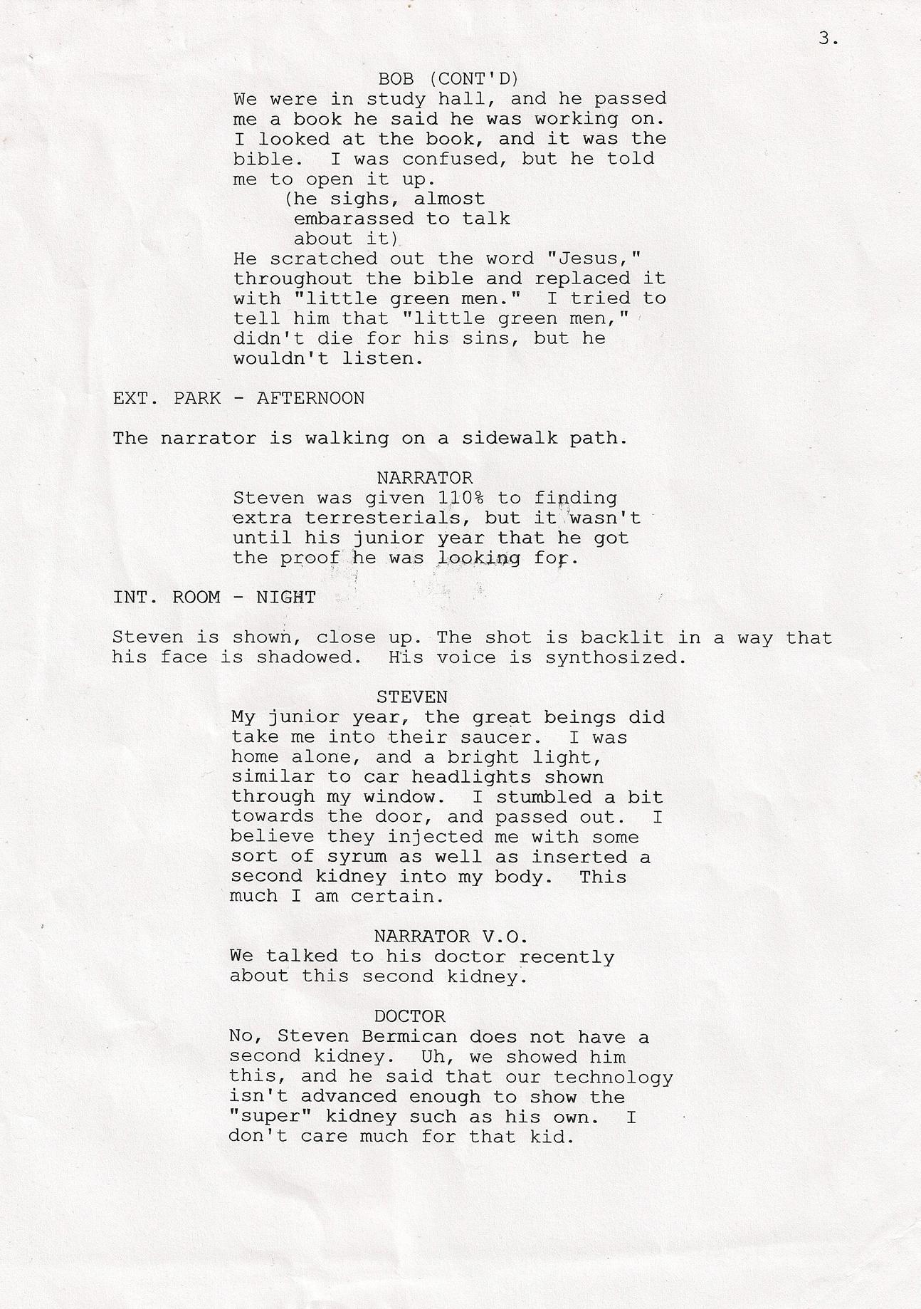 Home Alone Script