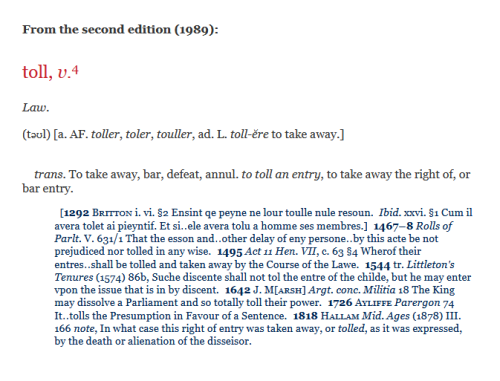 OED 2nd ed entry