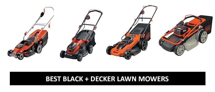 best Black & Decker Lawn Mowers