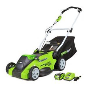 GreenWorks M040B01 review