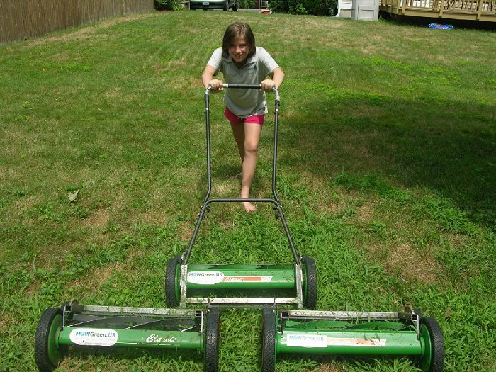 How To Mow Your Lawn With A Manual Push Reel Mower Lawn