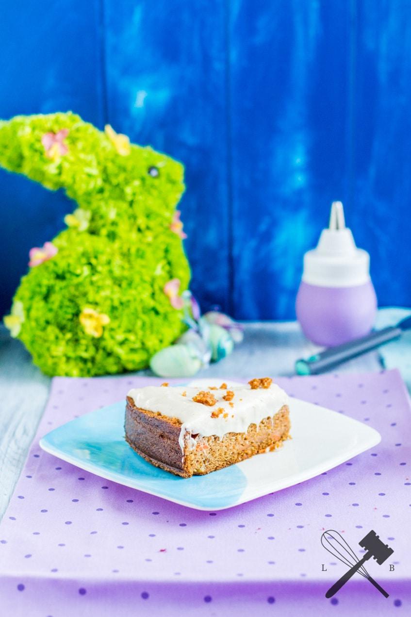 Werbung Karottenkuchen Mit Mascarpone Glasur Law Of Baking