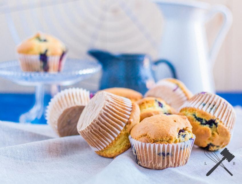 Heidelbeer Frühstücksmuffins