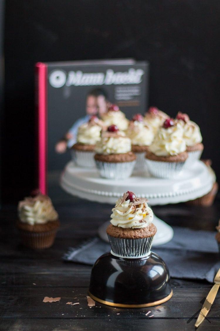 Schwarzwälder Kirschen Cupcakes