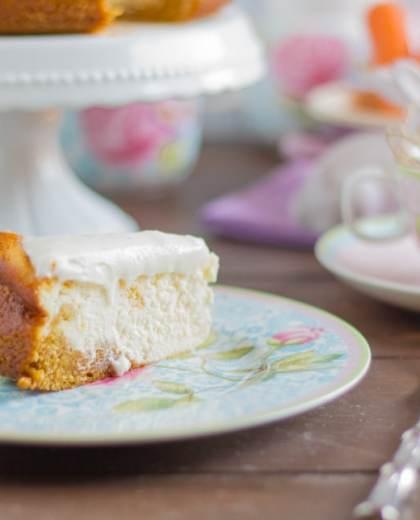 Karotten-Cheesecake