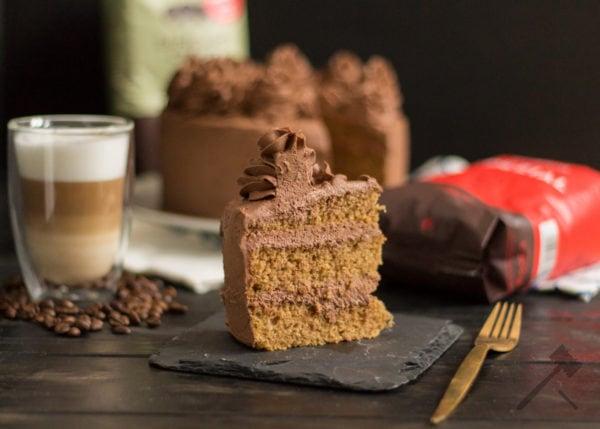 Kaffee Schokoladen Torte