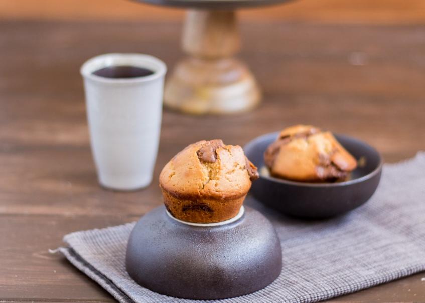 Erdnussbutter Muffins Mit Schokoladestuckchen Law Of Baking