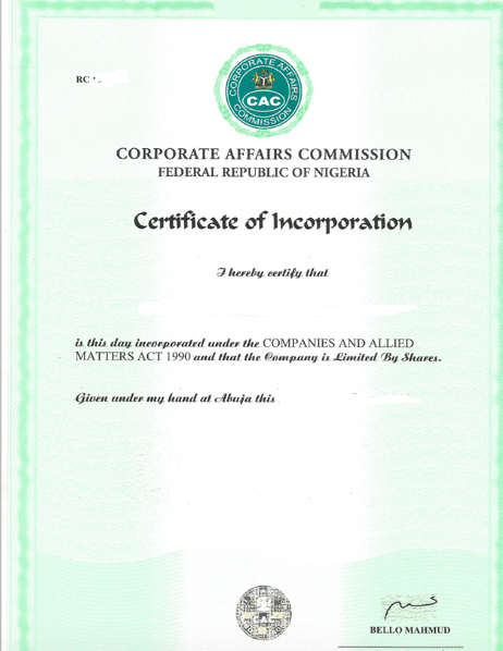 things to know about a certificate of incorporation