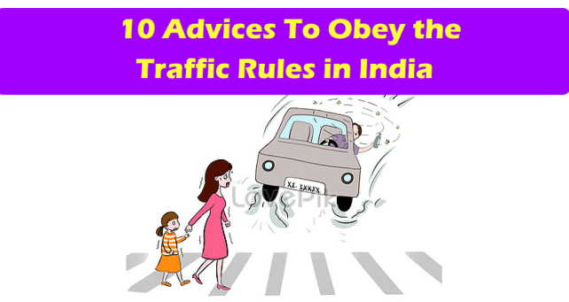 traffic rules in India