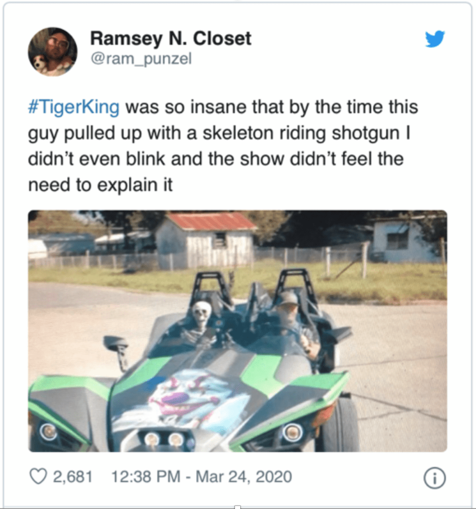31 Memes About Tiger King That Are Almost As Wild As The Show