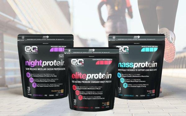 EQ Nutrition Packaging