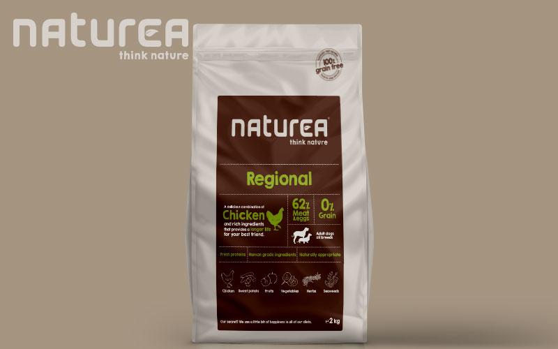 Naturea Dog Food Packaging