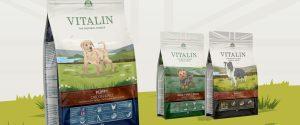 Vitalin Dog Food Packaging Law Print
