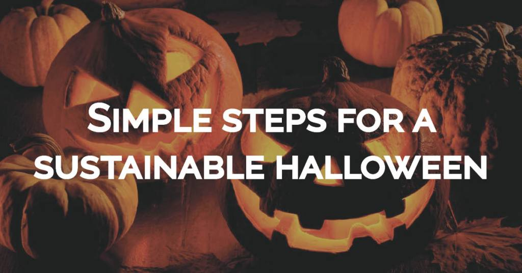 sustainability halloween