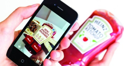 Heinz Ketchup Augmented Reality Packaging