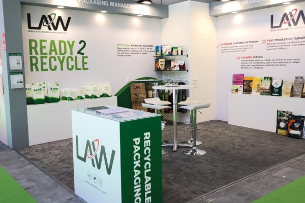 Law Print & Packaging Management Stand for Zoomark 2019