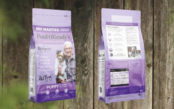 Burgess – Paul O'Grady's Dog Food