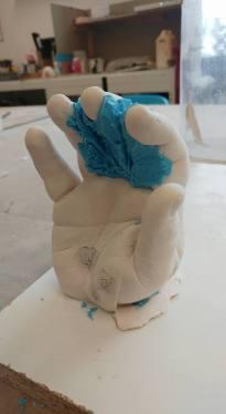 hand casting 26