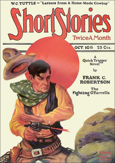 October 1927 Copy of Short Stories Magazine